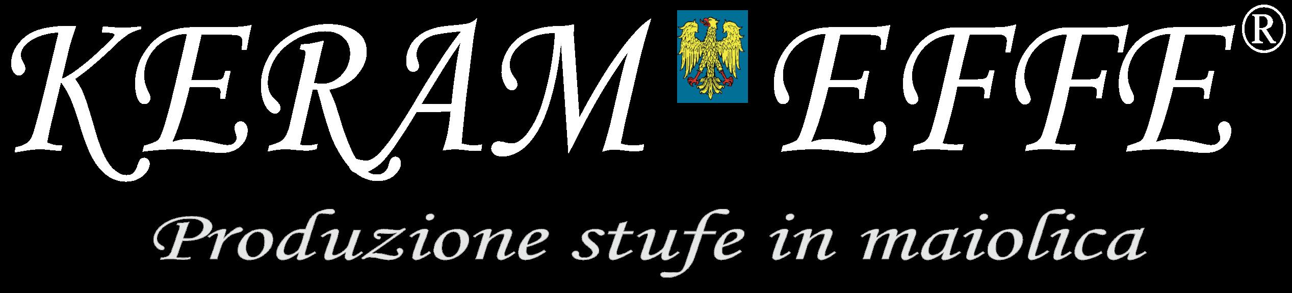 Keram Effe Logo White